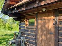vchod - chata ubytování Huslenky