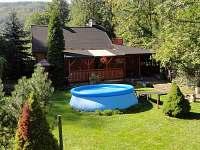 bazén - chata k pronajmutí Řeka