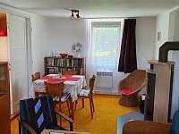 Obývací pokoj - pronájem chaty Frýdlant nad Ostravicí
