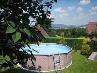 Bazén - chata k pronajmutí Trojanovice