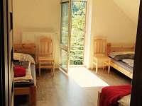 Horní ložnice 4 lůžková ložnice
