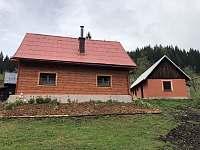 Ubytování U Petřeků - areál chalupy - ubytování Bzové