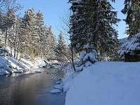 Beskydy - potok za chatou