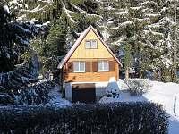 Chata - Beskydy - zima