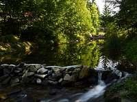 Potok Kněhyně za chatou