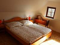 ložnice č.4 - pronájem chalupy Halenkov