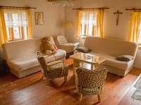 obývací pokoj s 3 lůžky
