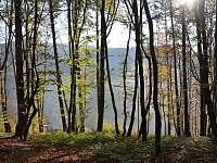 Bílé Karpaty, okolí Hluboče -