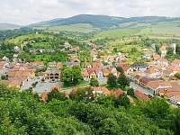 Brumov - Bylnice, pohled z hradu - Hluboče