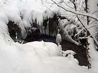 Potok u chaty - Hluboče