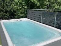 Nový bazén - Dolní Lomná