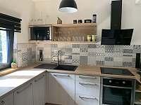 plně vybavená kuchyně - chata ubytování Dolní Lomná