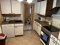 Kuchyň - chata k pronajmutí Visalaje