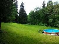 Zahrada - chata ubytování Visalaje