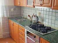 Apartmán u Balatonu - kuchyň