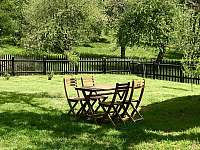 Pohled do zahrady - Karolinka