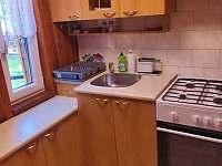 Kuchyňka - chata k pronájmu Dolní Lhota u Luhačovic