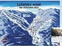 Ski Bílá - chata k pronajmutí Ostravice