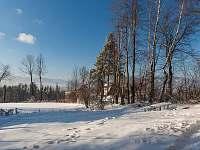 Pohled od chaty - Malenovice