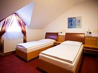 Dvoulůžkový pokoj - oddělené postele (v podkroví) - Vsetín
