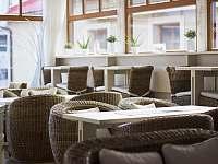 Interiér kavárny - ubytování Vsetín