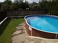 bazén - chalupa k pronajmutí Písečná