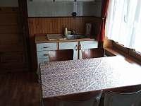 kuchyň - chalupa ubytování Písečná