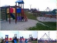 Dětské hřiště Bratřejov - chalupa k pronajmutí