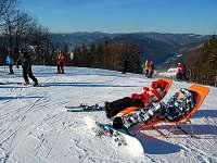 Chalupa v Karolince, lyžařský vlek