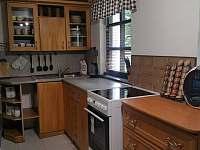 kuchyně - pronájem chaty Čeladná