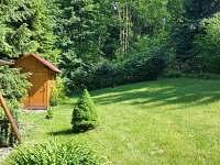 zahrada - chata ubytování Čeladná