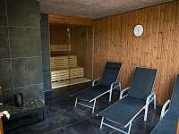 Finská sauna s odpočinkovou zónou - Bílá