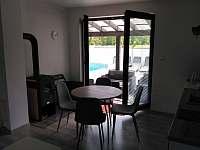 Pokoj s terasou - apartmán ubytování Dolní Lomná