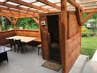Infra sauna - chata k pronajmutí Dolní Bečva