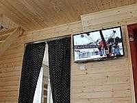 LCD televize v obýváku