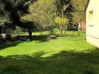 Zahrada na chatě - k pronajmutí Dolní Bečva