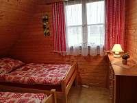 Jeden z pokojů má rozdělená lůžka - Ostravice