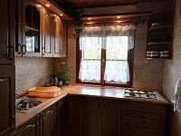 Vybavená kuchyň je samozřejmostí - chata k pronájmu Ostravice