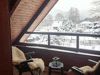 Výhled na Lysou horu - chata k pronájmu Ostravice