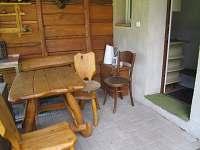 Vchod do apartmanku - ubytování Tyra