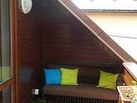 Balkón/pokoj 1