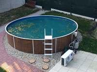 bazén - chata ubytování Frenštát pod Radhoštěm