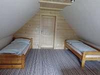 horní ložnice - 4 lůžka