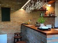 Bar a výčepní zařízení ve společenské místnosti - Bystřička