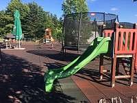 dětské hřiště u restaurace Horizont - (10 min chůze)