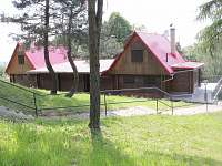 Pohled na chatu ze zadní strany