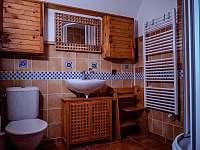 koupelna s WC a sprchovým koutem - Trojanovice
