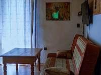 obývák - chata ubytování Trojanovice