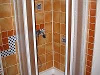 sprchový kout - pronájem chaty Trojanovice