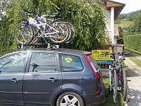 Cyklostezka Bečva 150m od domu - rekreační dům k pronájmu Karolinka
